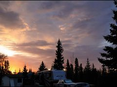 Sonnenaufgang, Dave`s RV Park, Vanderhoff 16.5.2011, 5:25 ... C by <b>americatramp.the2nd</b> ( a Panoramio image )