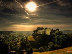 Lenzburg Castle by <b>Anthony August</b> ( a Panoramio image )