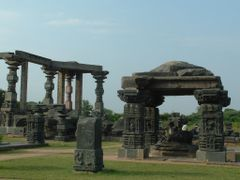 Warangal Fort Remains by <b>Satya Josyula</b> ( a Panoramio image )