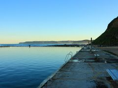 Merewether Baths - winter afternoon by <b>Greg Swinfield</b> ( a Panoramio image )