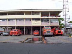 Cuartel de Bomberos Juan M. Arauz Jr. David- Chiriqui by <b>Itzy_06</b> ( a Panoramio image )