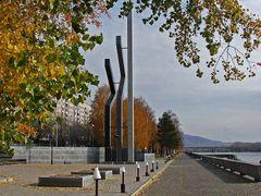 Auezova avenue monuments  by <b>RENat Mansurov</b> ( a Panoramio image )
