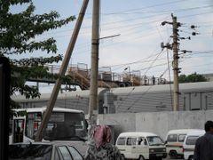 Деревянный мост через Ж/Д. в Янгиюле by <b>raz.or</b> ( a Panoramio image )