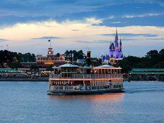 Disney World, Magic Kingdom:  Seven Seas Lagoon by <b>Scott Gore</b> ( a Panoramio image )
