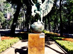 Mexico, D.F., Delegacion Miguel Hidalgo, Angel Perselidas Monume by <b>Pecg17</b> ( a Panoramio image )
