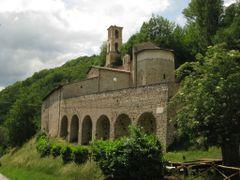 """Abbazia di Sant"""" Eutizio, Preci. by <b>Robert@Dona</b> ( a Panoramio image )"""