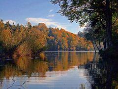 Trakoscan lake by <b>Vid_Pogacnik</b> ( a Panoramio image )