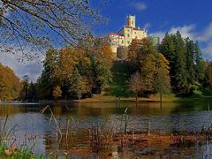 Trakoscan castle by <b>Vid_Pogacnik</b> ( a Panoramio image )