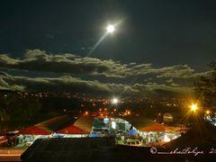 Feria  con luna Naranjo, Costa Rica by <b>Melsen Felipe</b> ( a Panoramio image )