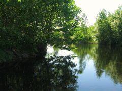 pond at Deep Purple Mines amethyst deposit  by <b>aks 1</b> ( a Panoramio image )