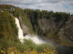 Chute-Montmorency, Qu?bec, Canada by <b>Hans Sterkendries</b> ( a Panoramio image )