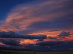 #1 - Sunset Oct 22 - Looking Northeast by <b>eveinmontana</b> ( a Panoramio image )