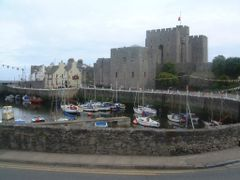 Castletown harbour with the castle by <b>Owen Morgan</b> ( a Panoramio image )