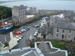 The harbour seen from the Castle by <b>Owen Morgan</b> ( a Panoramio image )
