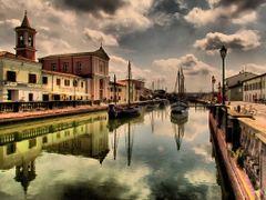 Cesenatico, porto canale by <b>marco .gi 46</b> ( a Panoramio image )