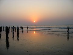 Digha Sunrise 01 by <b>Biplab Kumar Pal</b> ( a Panoramio image )