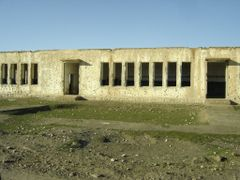 Building depicting an long era of Violence by <b>Conrad Blything</b> ( a Panoramio image )