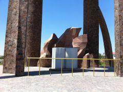 """Памятник """"Авесто"""" by <b>iDevil</b> ( a Panoramio image )"""