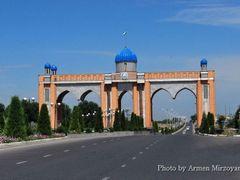 Выезд из Ферганы. Основан в 1876 году. 18 июня 1887 года был утв by <b>Armen Mirzoyan</b> ( a Panoramio image )
