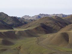 Mongolie_Montagne_Gobi by <b>Simonnet</b> ( a Panoramio image )