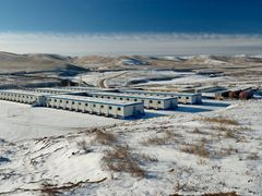 Boroo Gold mine in Mongolia by <b>Pascal Regimbaud</b> ( a Panoramio image )