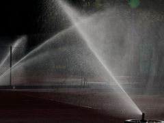 Fountains on Tennis Court by <b>manfrezo</b> ( a Panoramio image )