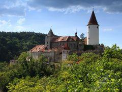 Krivoklat castle by <b>Karsten Ivan</b> ( a Panoramio image )