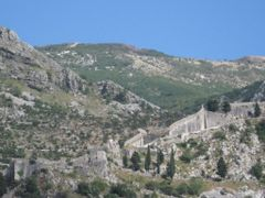 Kotor - Fortress San Giovanni XIII - XIX by <b>sonjamar</b> ( a Panoramio image )