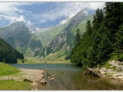 Seealpsee(CH) ?(255°) by <b>© Roland</b> ( a Panoramio image )