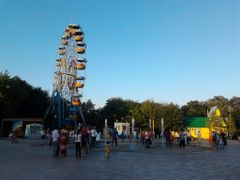 Kirov Park with fontain by <b>visitor631</b> ( a Panoramio image )