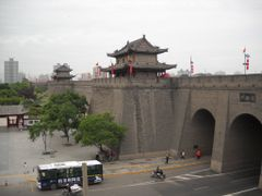 Xian citywall by <b>Dr.Azzouqa</b> ( a Panoramio image )