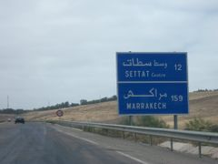 Direction Settat centre/ Marrakech by <b>Mhamed Zarkouane</b> ( a Panoramio image )