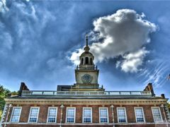 Independence Hall by <b>Michael Braxenthaler</b> ( a Panoramio image )