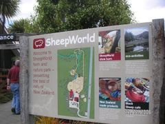 Sheep World, one for the Welsh! by <b>Ian Monaghan</b> ( a Panoramio image )