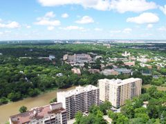 View west from 55 Nassau by <b>Kirk Cumming</b> ( a Panoramio image )