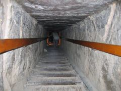 Dahshur - Piramide Rossa - interno by <b>Sandro & Cristina</b> ( a Panoramio image )