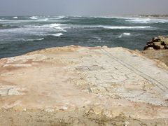 Mosaic floor, Caesarea (03-JAN-04) #2 by <b>Ilya Borovok</b> ( a Panoramio image )