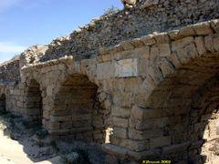 Roman aqueduct, Caesarea (26-NOV-05) by <b>Ilya Borovok</b> ( a Panoramio image )