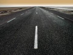 Chot el Jerid - Carretera by <b>antonio.vallano</b> ( a Panoramio image )