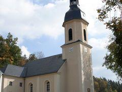 Dorfkirche von Wiedersberg by <b>katze1970</b> ( a Panoramio image )