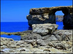 Blue Window on island of Gozo © by <b>Dezso Biczo ©</b> ( a Panoramio image )