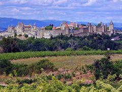 Carcassonne view by <b>Finn Lyngesen flfoto.dk</b> ( a Panoramio image )
