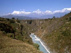 Nepal, Pokhara,  Seti- underground river by <b>Elios Amati (tashimelampo)</b> ( a Panoramio image )