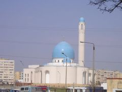 Beket-Ata_Meshiti(Mosque)_Aktau by <b>Rakhat</b> ( a Panoramio image )