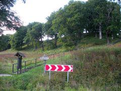 Dubingiu piliaviete (Dubingiai Castle Hill) by <b>MrEko</b> ( a Panoramio image )