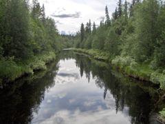 A river next to Ranua by <b>BalazsKakoczki</b> ( a Panoramio image )