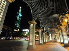 Taipei Cathay Financial Building corridor by <b>anter7304</b> ( a Panoramio image )