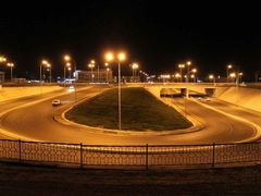 Дорожная развязка возле стадиона Navbahor и парка Kamolot. by <b>NobrakeS</b> ( a Panoramio image )
