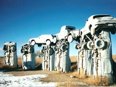 Carhenge, Alliance, Nebraska by <b>MOGRAM</b> ( a Panoramio image )