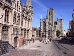 Sint-Niklaaskerk, Gent by <b>~Nomad~</b> ( a Panoramio image )